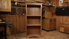 DIY Bookcase: Build a Cherry Bookcase