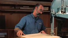 Circle Jig on the Bandsaw