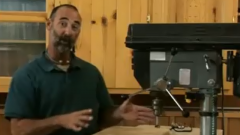 Using a Laser Sight on Your Drill Press