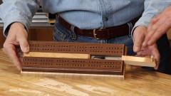 Cribbage Board Plans: Build a Cribbage Board