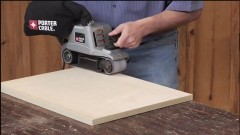 leveling edge with a belt sander copy