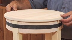 Building a Round Stool