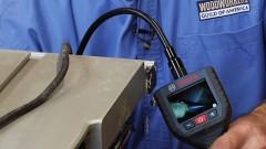 Tool Maintenance Using an Inspection Camera
