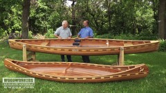 Woodworking Projects: How to make a canoe