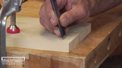 Chopping Dovetail Sockets