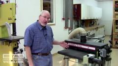 Woodworking Tools: SuperMax Tools 19x38 Sander