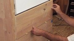 Build a Dresser: Attach the Drawer Fronts