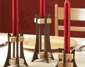 Elegant Candleholder easy woodworking plans