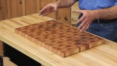 cutting board plans: end grain cuttingboard