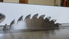 This is an image of a table saw blade