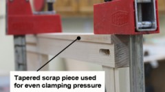 This is an image of clamping with wedge
