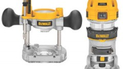 This is an image of a DeWalt trim router