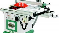 This is an image of a grizzly table saw
