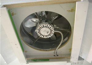 how to make a homemade exhaust fan
