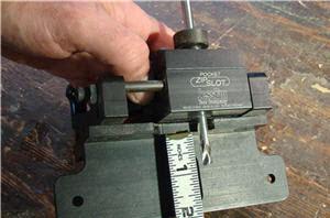 Zip slot mill