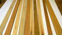 This is an image of wood strips