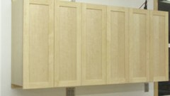 This is an image of modular storage cabinets