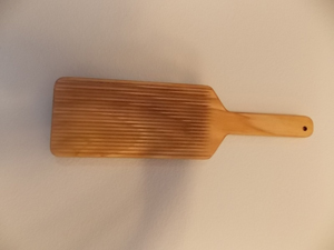 Cavatelli Paddle for wooden engraving