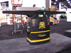 New Tools and Woodworking Projects at AWFS 2011