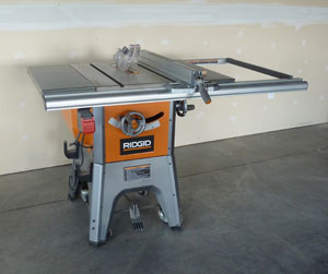 Ridgid Table Saw Tool Review