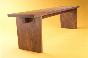 how to build a wooden bench