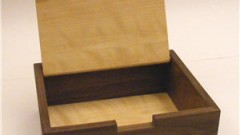 This is an image of a small jewlery box