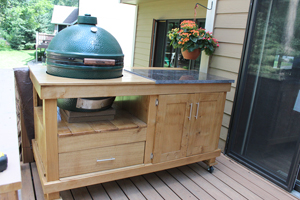Building A Rolling Cart For A Grill
