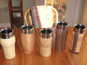 Easy Wood Projects - travel mug
