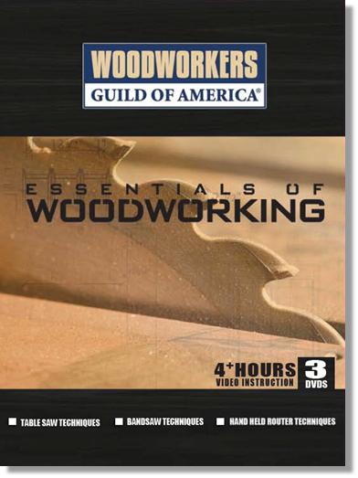 Essentials of Woodworking - 3 DVD Set