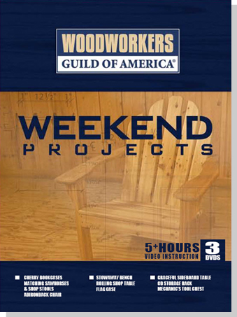 Weekend Projects - 3 DVD Set