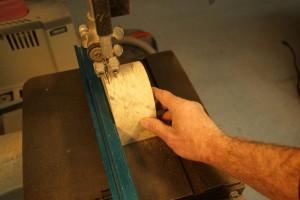 Bandsaw Box Cut off Back
