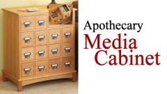 media cabinet plan