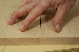 Gluing Up Panels - Angled Edge