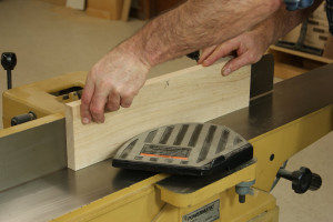 Gluing Up Panels - Joint the Second Edge