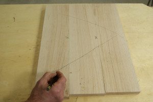 Gluing Up Panels -Mark the Faces