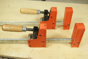 Gluing Up Panels - Parallel Jaw Clamps