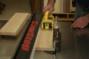 Gluing Up Panels - Rip to Width