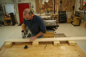 Gluing Up Panels - Rough Cut to Length