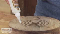Gluing Wet Wood