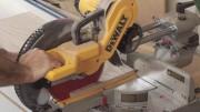 Cutting Plywood on a Sliding Miter Saw
