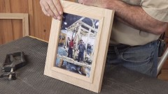 Easy-to-Make Wooden Picture Frame