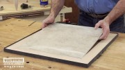 How to Make a Tiled Table Part 2 of 3 - Woodworking Video
