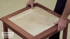 How to Make a Tiled Table Part 3 of 3 - Woodworking Video