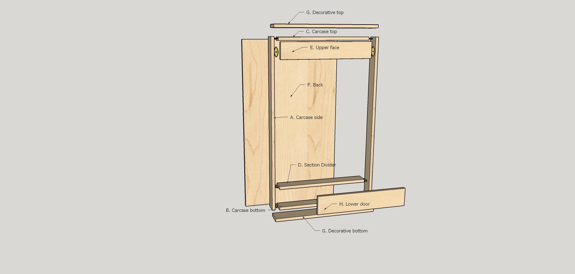 Dartboard Cabinet Diy Plans Do It Your Self