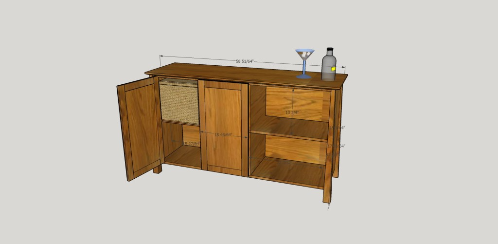 SketchUp Guide for Woodworkers - Hutch