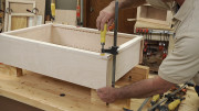 Gluing a Face Frame to a Cabinet