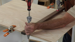 How to Finish the Ends of a Melamine Cabinet