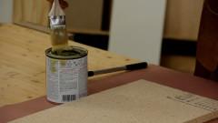 Using Contact Adhesive